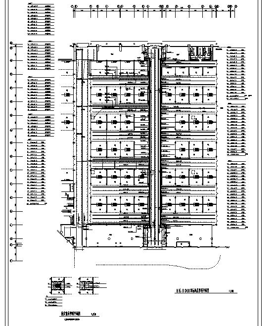 哈尔滨某展览中心电气照明图纸_2