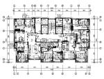 全套现代风格酒店客房设计CAD施工图