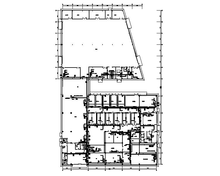 VRV暖通设计及计算书资料下载-上海奕森生产车间暖通空调施工图(含详细计算书)