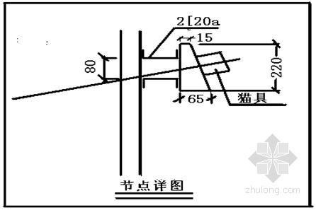 钢板桩和土钉墙资料下载-商业大厦深基坑围护结构设计方案(土钉墙 钢板桩)