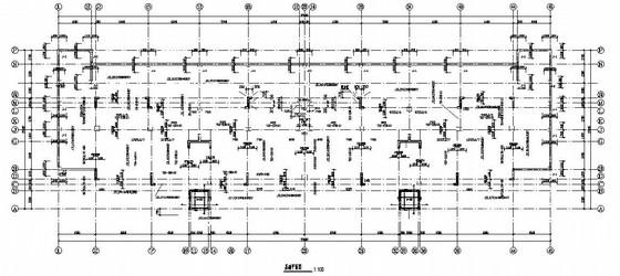 [河南]11层框剪结构住宅结构施工图