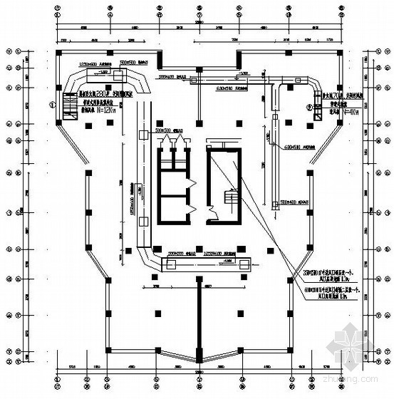 [本溪]住宅楼采暖通风设计施工图