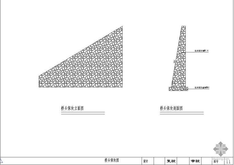 1-20m预制混凝土块拱桥施工图