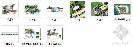 广东广州某小区环境景观设计方案-4