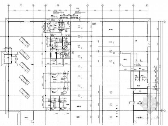 [四川]汽车展厅空调系统设计施工图(多联式VRV空调系统)