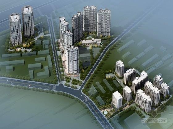 [福建]超高层现代风格住宅区规划设计方案文本