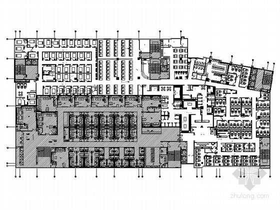 [广东]休闲会馆水疗SPA室内设计施工图(含效果)