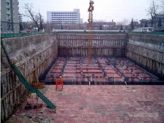 [浙江]地下室深基坑土钉墙喷锚支护开挖降水施工方案