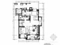 [山东]三层现代风格别墅室内装修施工图(含实景效果图)