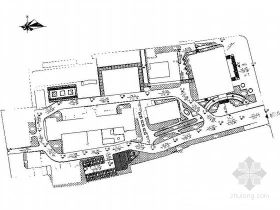 [芜湖]医院周边环境景观规划设计施工图