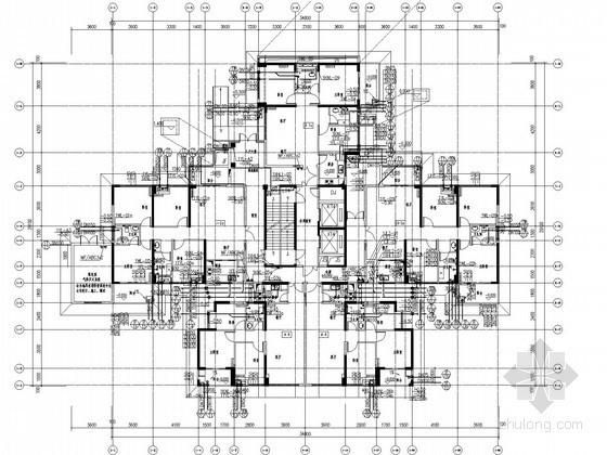 [福建]超高层住宅楼给排水施工图(压力排水 同层排水)