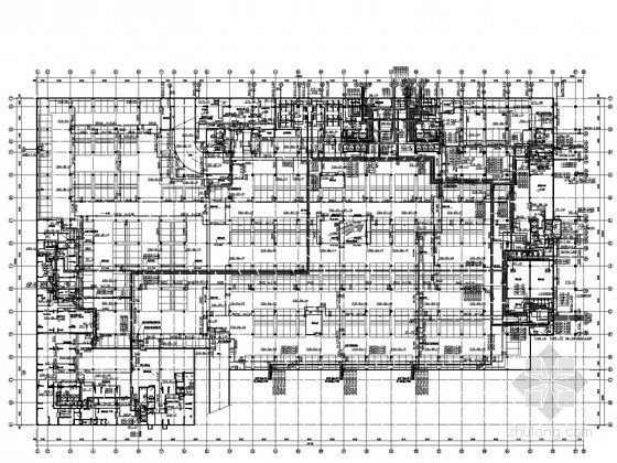 [深圳]高层厂房建筑给排水施工图纸(同层排水 气体消防)