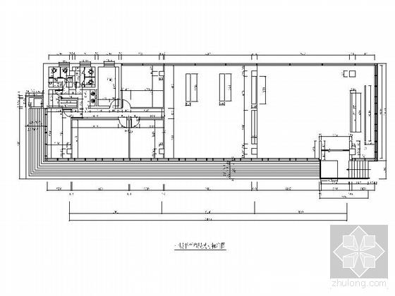 [青岛]某住宅小区售楼处室内竣工图