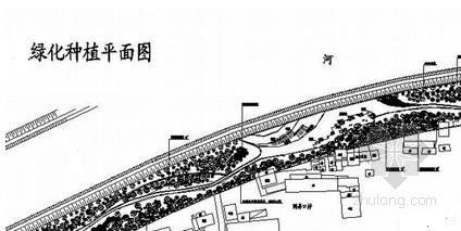 山东河道清淤周边绿化施工组织设计(清淤疏浚 爆破)