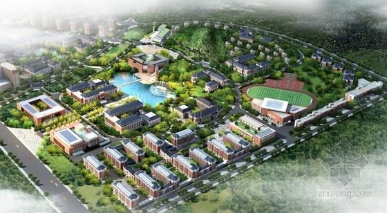 [云南]欧式风格大学校园规划及建筑设计方案文本