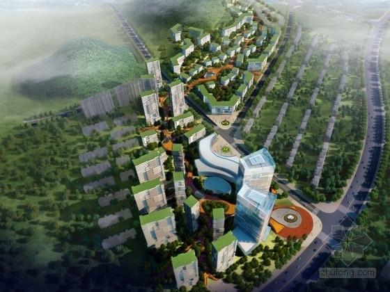 [山东]现代风格商务区规划概念设计方案文本