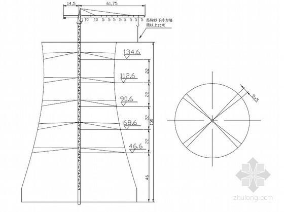 [武汉]电厂冷却塔MC230塔吊安装和拆卸施工方案