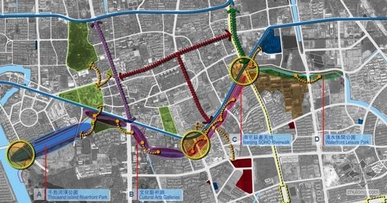 南京河道景观设计方案(四)