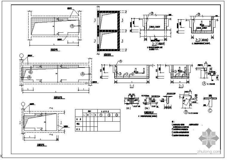 某自动扶梯及电梯相关大样节点构造详图