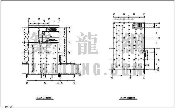 某电厂IG541气体灭火和自动报警设计图