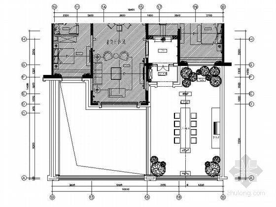 [上海]精装现代简欧三层跃层装修施工图(含效果方案)