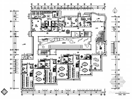 某时尚三层幼儿园全套施工图(含施工实景)