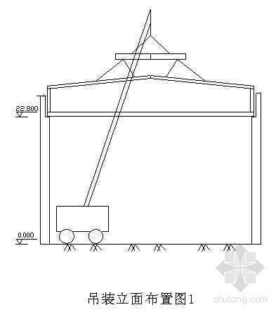 某电厂36米跨钢屋架钢结构吊装施工方案