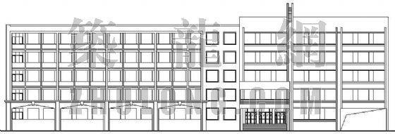 某中学教学楼建筑施工图