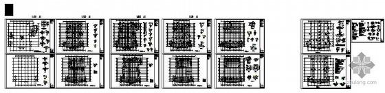 扬州某现浇框架农贸市场结构图