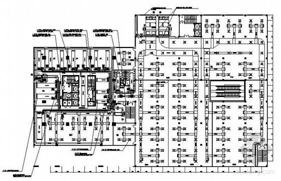 某商务写字楼中央空调平面图