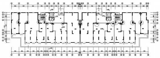 河南某九层住宅楼电气施工图