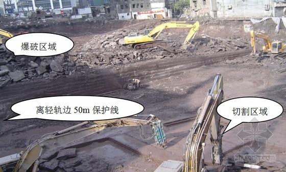 复杂环境下的岩石深基坑控制爆破、边壁垂直开挖综合施工技术总结