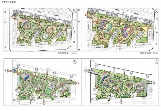 [宜昌]住宅区广场景观方案深化设计