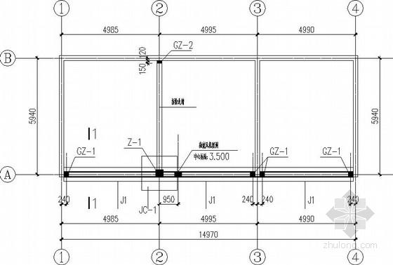 临时变电站结构施工图