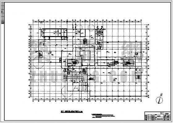某休闲广场给排水及消防施工图