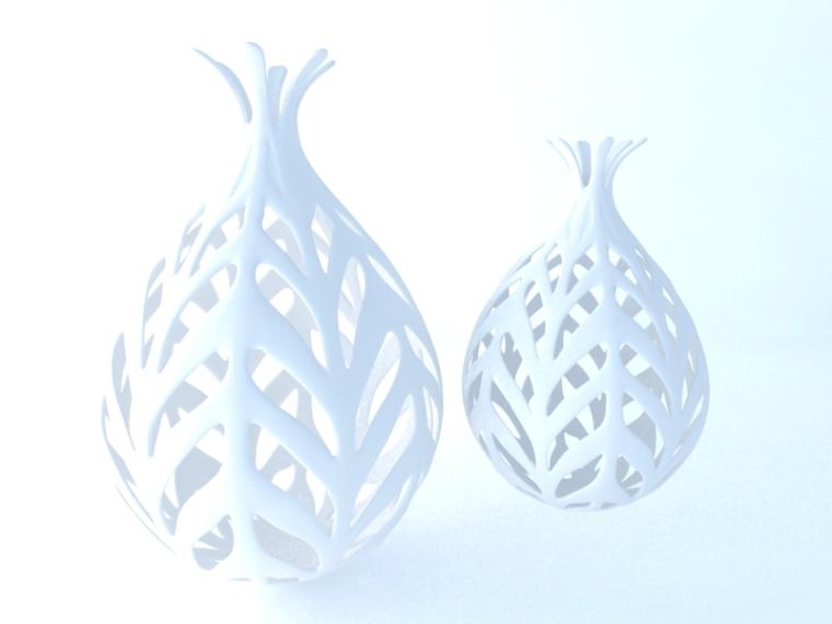 时尚镂空瓶3D模型下载