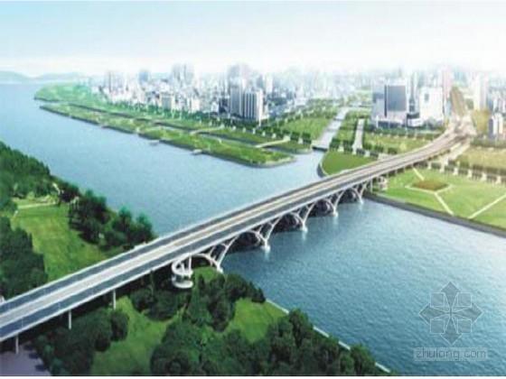 [广东](40+4X58+40)m上承式葵花形拱桥施工组织设计226页(群桩基础 含路基)