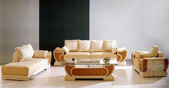 现代沙发模型1