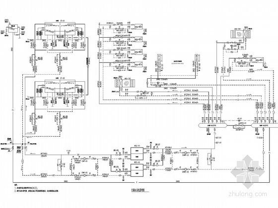 [湖南]大型地铁站建筑空调通风及防排烟系统设计施工图(大院设计)