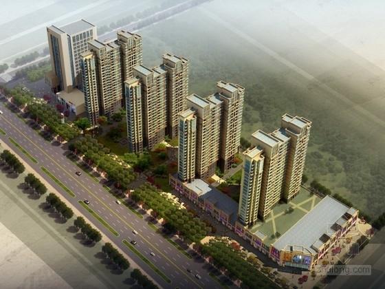 [山西]商业住宅区规划及单体设计建筑方案文本