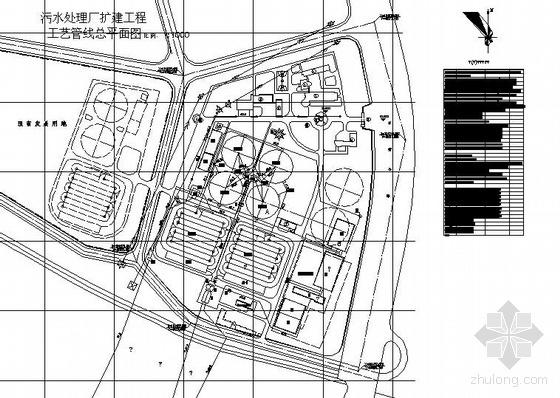 某15万吨污水厂工艺套图