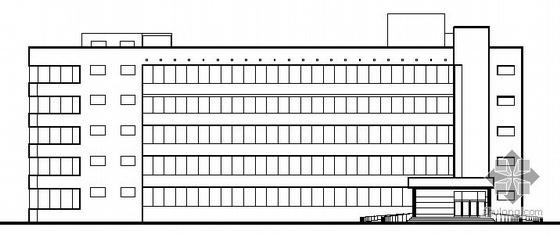 某五层精神病疗养院建筑扩初图