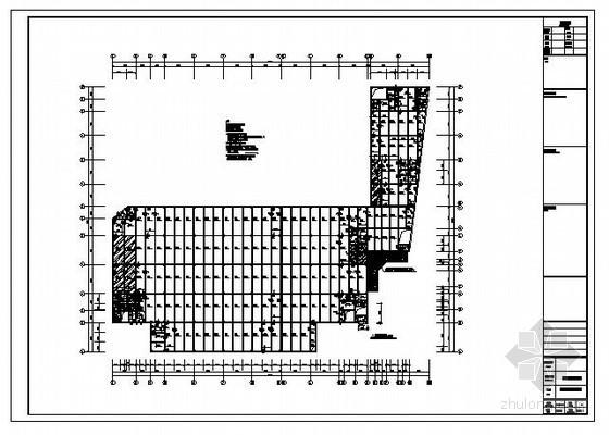 广州某框架厂房结构设计图