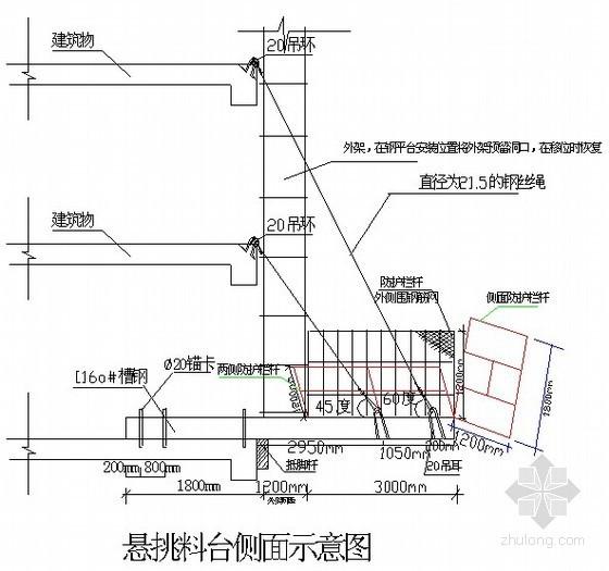 高层大厦脚手架施工方案(落地架、槽钢悬挑架)