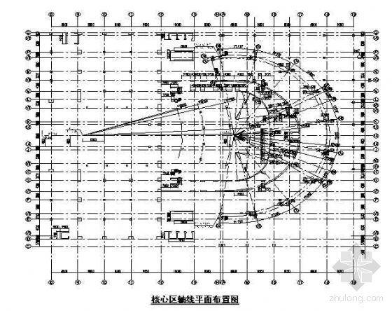 武汉某大剧院工程施工测量综合控制技术