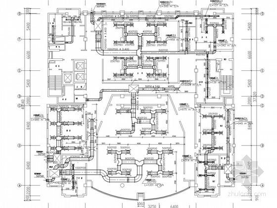 [北京]综合大楼空调通风系统设计施工图