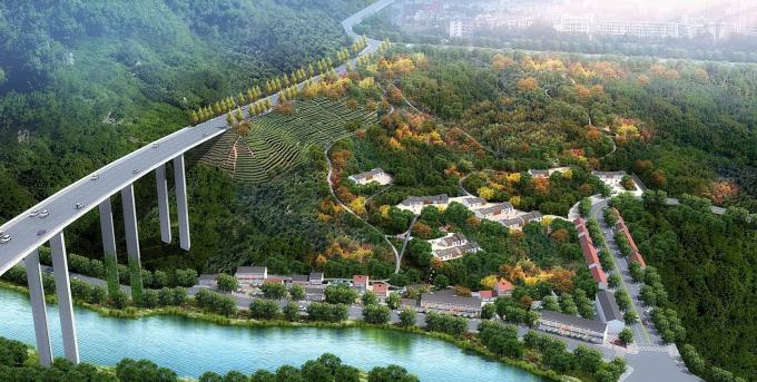 [湖北]鄂西文化屈原故里滨江山地道路景观整治设计方案(2017最新3大道路设计)