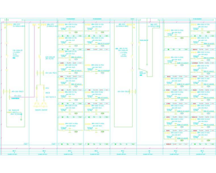 [安徽省]滁州移动分公司强电施工图