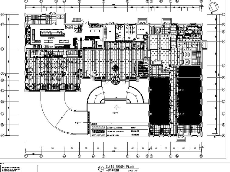 东吴酒店公区客房设计施工图(附效果图+设计方案文本)