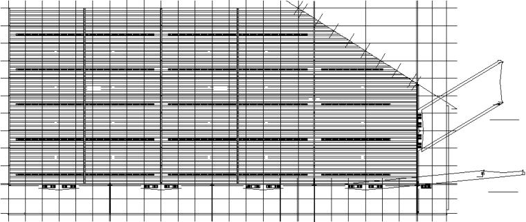 1、3、4号车间门式刚架钢结构施工图(CAD,22张)_3